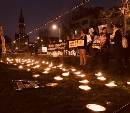 Strijd voor vrijlating Raif Badawi gaat door