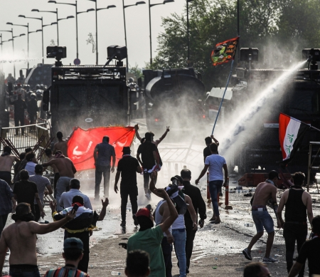 Irak, 1 oktober 2019 © Ahmad Al-Rubaye/AFP via Getty Images