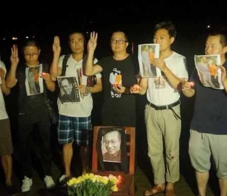China: zes activisten die Liu Xiabo herdachten vrijgelaten