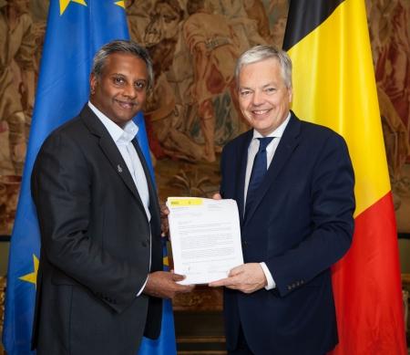 Blijven waken over mensenrechten in België