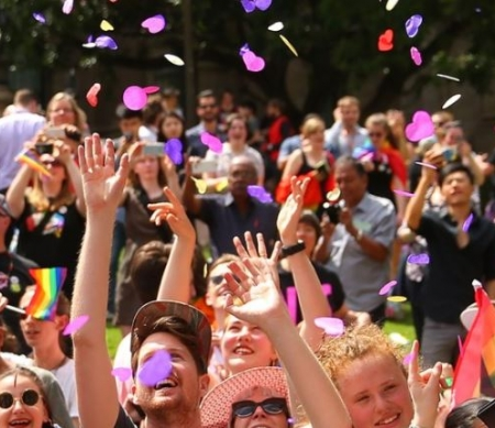 "Homohuwelijk in Australië: Amnesty verwelkomt historische ""ja"""