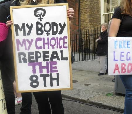 "De jaarlijkse ""March for Choice"" in 2014 © Amnesty International"