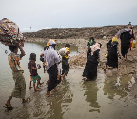 Myanmar vluchtelingen