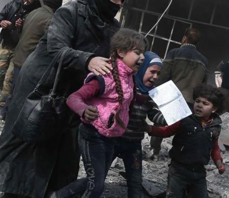 Syrië: meedogenloze bombardementen op burgers in Oost-Ghouta zijn oorlogsmisdaden