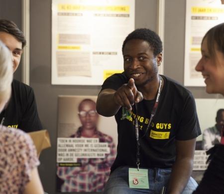 Werken bij Amnesty