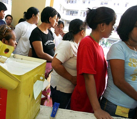 verkiezingen in de Filipijnen © AP GraphicsBank