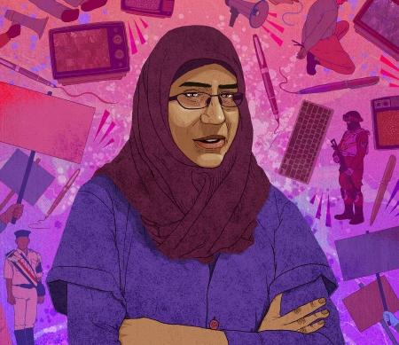 Hanan Badr el-Din uit Egypte