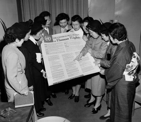 Universele Verklaring van de Rechten van de Mens - foto: UNPhoto