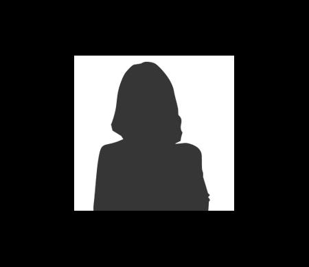 silhouette van een vrouw