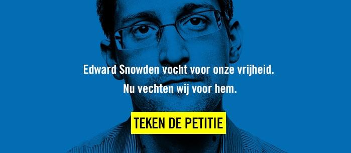 Teken de petitie voor Edward Snowden