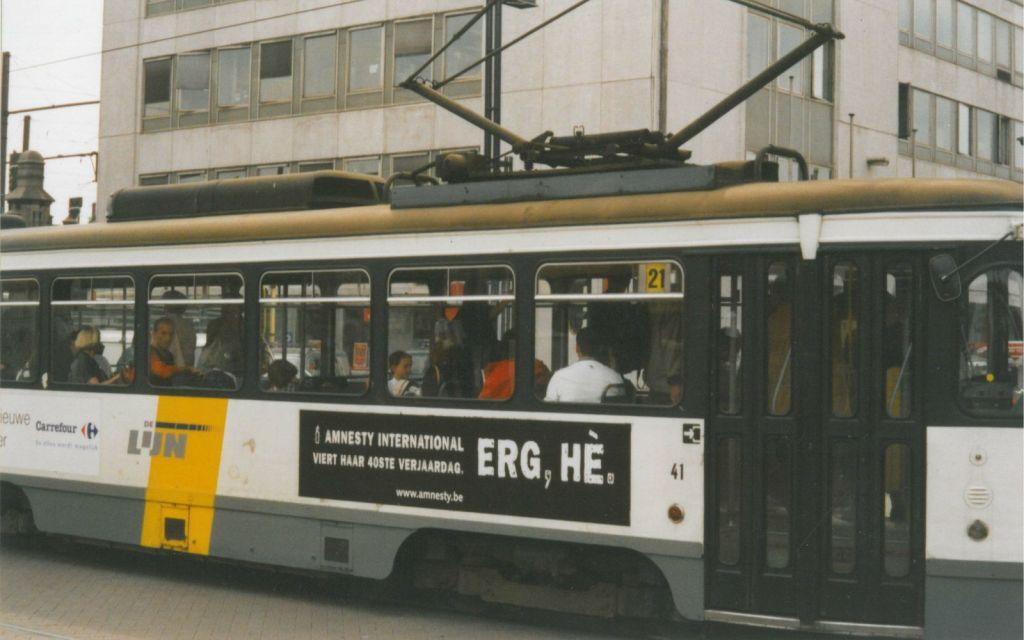 In 2001 viert Amnesty haar 40ste verjaardag