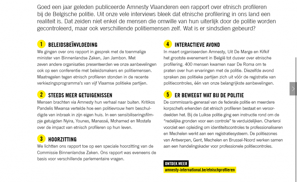 Amnesty in Actie, juni 2019