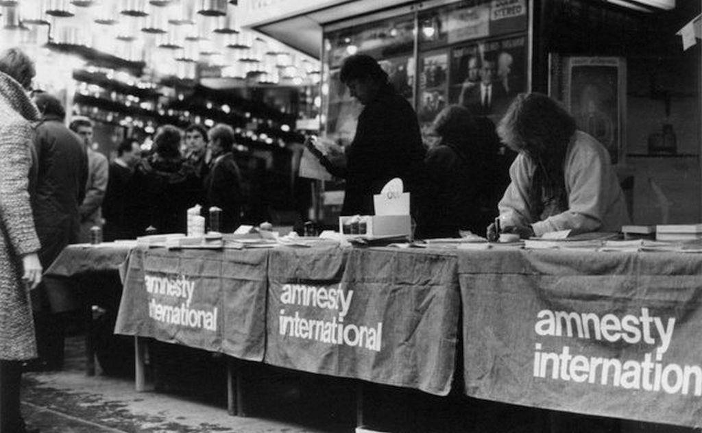 Actie van Amnesty Vlaanderen in 1980