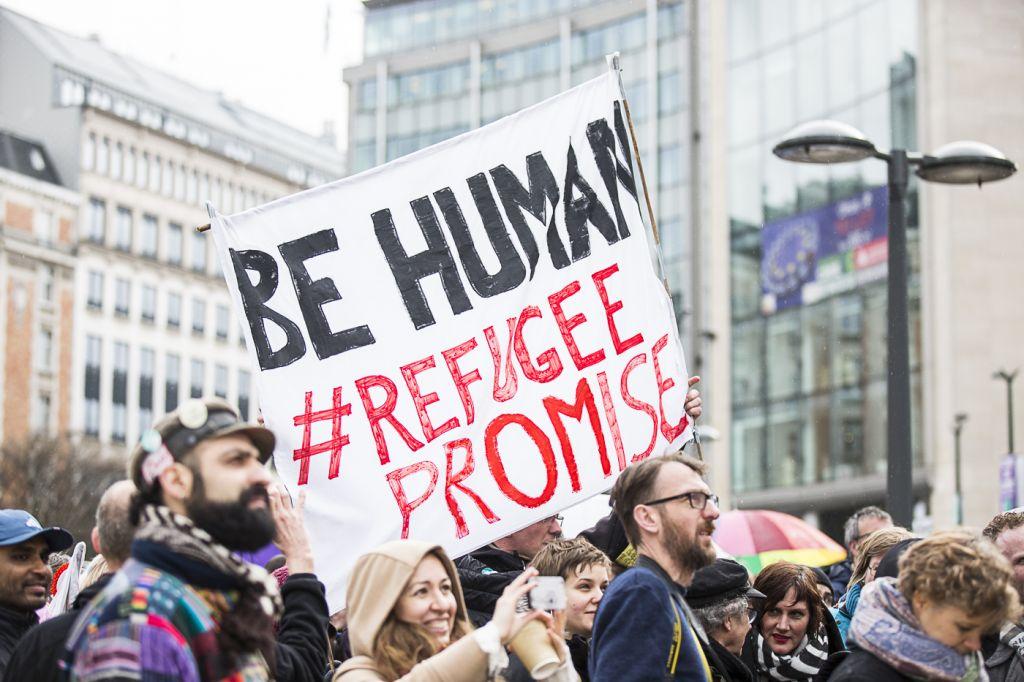 Bring them here, autokaravaan voor een humaan Europees vluchtelingenbeleid - 6 maart