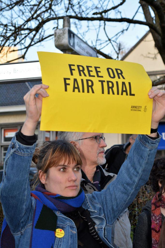 Actie voor opgepakte VUB-wetenschapper Ahmadreza Djalali en doctoraatsstudent Hamid Babaei, 14 februari en 21 maart