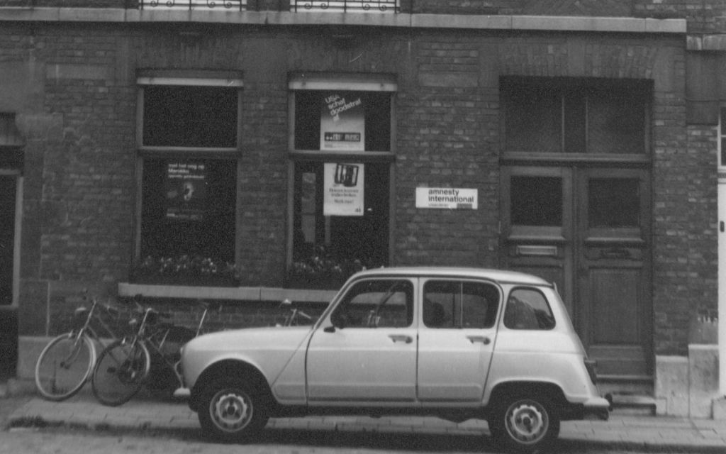 Het vroegere kantoor van Amnesty Vlaanderen aan de Ruelensvest in Leuven