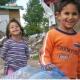 Roma-kinderen in Belvil, Servië