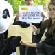 panda voor de Chinese ambassade in Brussel