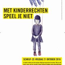 Affiche van de Schrijf-ze-VRIJdag 2016
