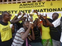 Toast to Freedom in Togo © Amnesty International