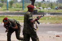 Presidentiele garde vuurt op UDPS supporters in Kinshasa, november 2011 -REUTERS